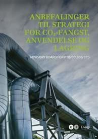 Anbefalinger til strategi for CO2-fangst, anvendelse og lagring