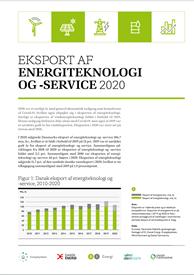 Eksport af energiteknologi og -service 2020