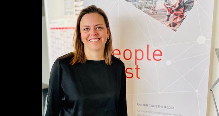 HR Partner Lotte Zeeberg, ZÜBLIN A/S