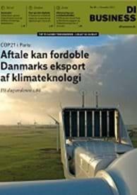 DI Business: Aftale kan fordoble Danmarks eksport af energiteknologi