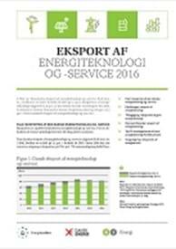 Eksport af energiteknologi og -service 2016
