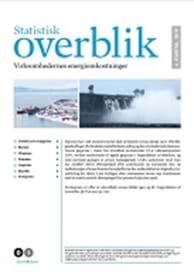 Statistisk overblik - virksomhedernes energiomkostninger - 4. kvartal 2018