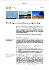 Tysk Energiewende med dansk energiteknologi