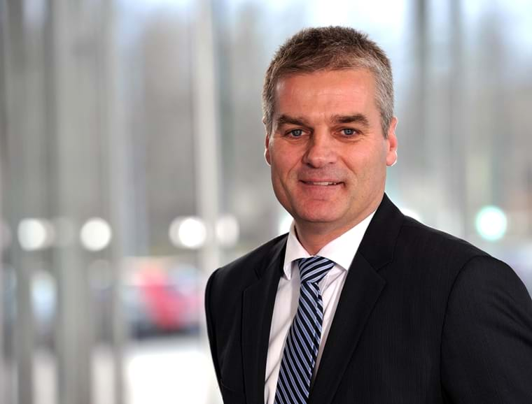 President Lars Tveen, Danfoss Heating