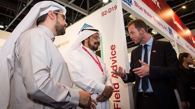 Miljø- og fødevareminister, Esben Lunde Larsen, har i de sidste fire dage været til eksportfremstød i Dubai