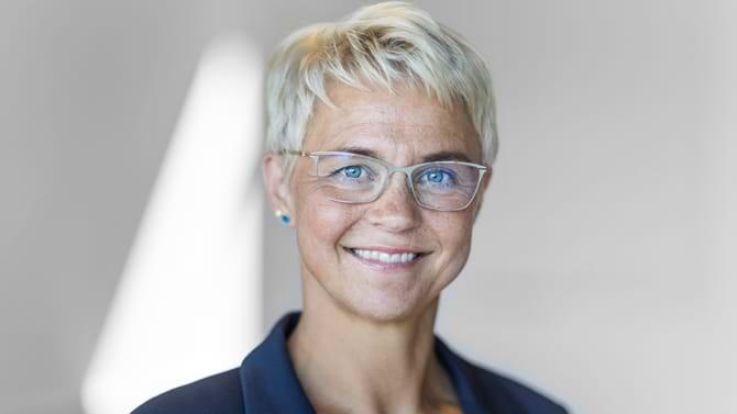 Kundedirektør i Toldstyrelsen Maren Holm Johansen er klar til at hjælpe virksomheder i forbindelse med Brexit.