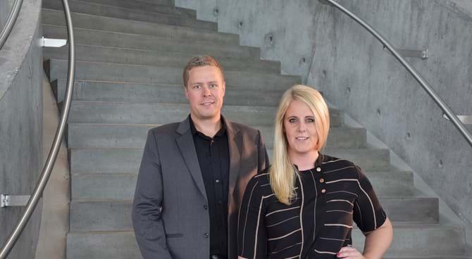 René Jespersen og Lisa Dalsgaard