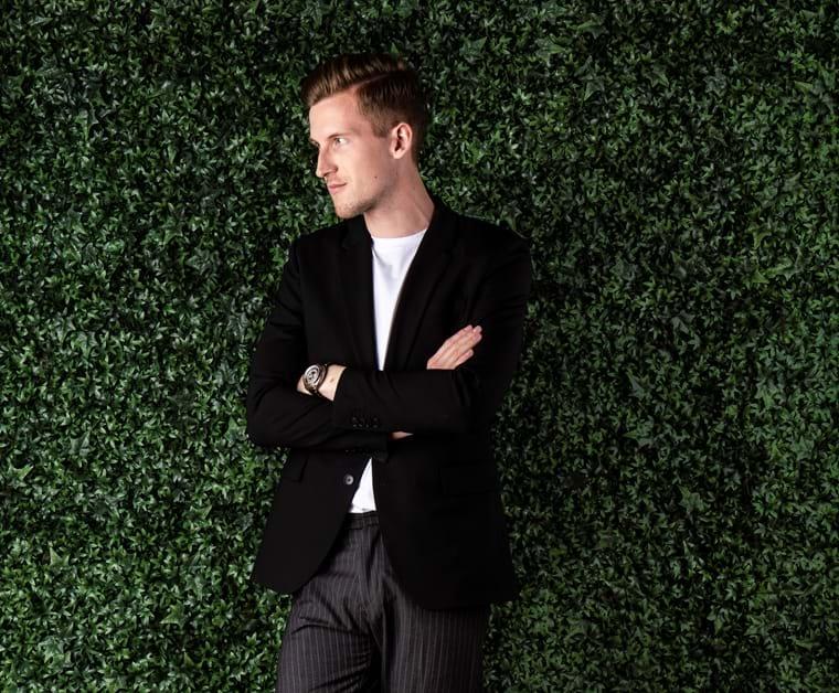Kasper Ulrich, co-founder & CEO hos Shaping New Tomorrow.