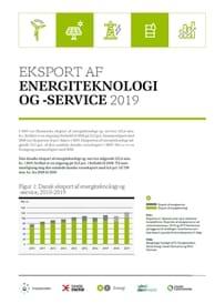 Eksport af energiteknologi og -service 2019