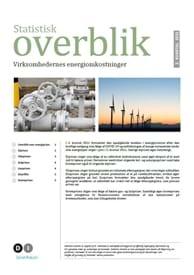 Statistisk overblik - virksomhedernes energiomkostninger - 2. kvartal 2021