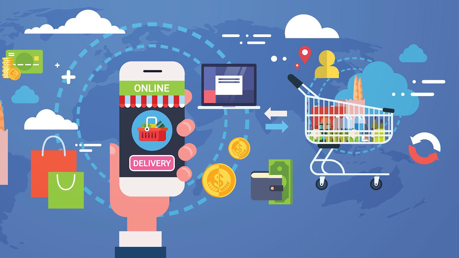Konference med online markedspladser