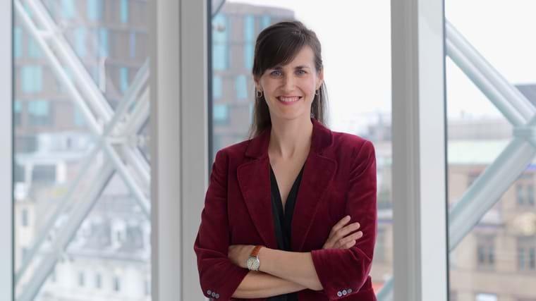 Kinga Szabo Christensen, chef for international virksomhedsrådgivning