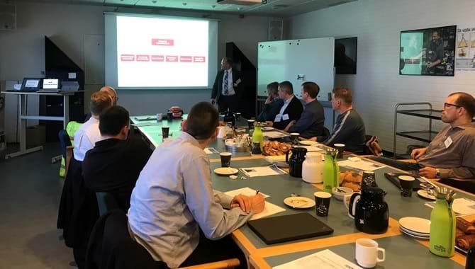 Møde i DAU's netværk for industriel it-sikkerhed