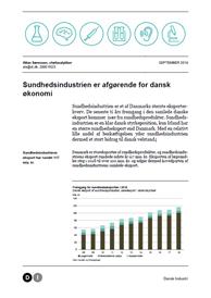Sundhedsindustrien er afgørende for dansk økonomi